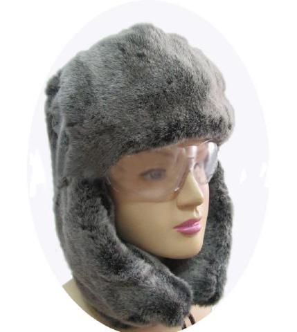 Mũ vải phòng lạnh làm bằng lông