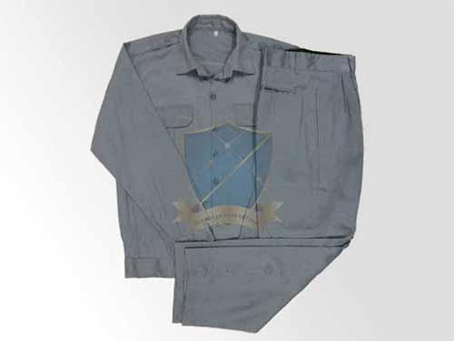 Quần áo bảo hộ vải kaki HQ mầu ghi đá 100% cotton