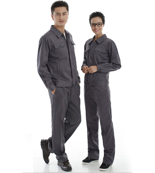 Quần áo bảo hộ màu ghi xám Pangzim (Hàng đặt may)
