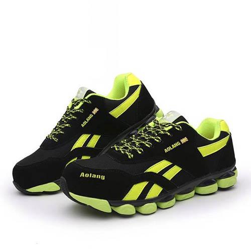 Giày bảo hộ cao cấp Aolang green siêu nhẹ