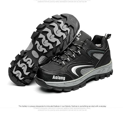 Giày bảo hộ thể thao cao cấp Aolang Black Winter siêu nhẹ
