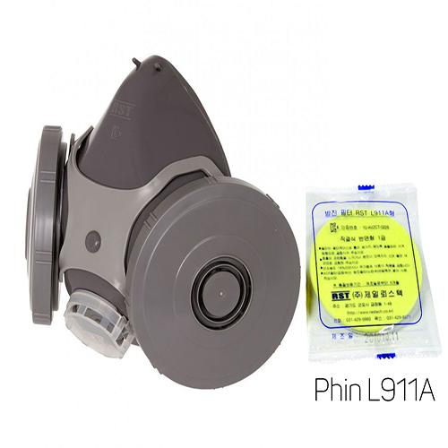 Mặt nạ phòng bụi Restech RM 200 + Phin L911A