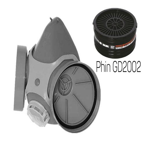 Mặt nạ phòng độc Restech RM 3000 + phin GD2002