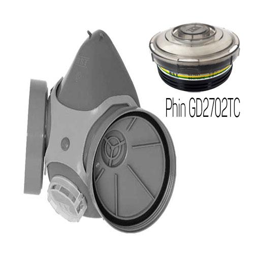 Mặt nạ phòng độc Restech RM 3000 + phin GD2702TC