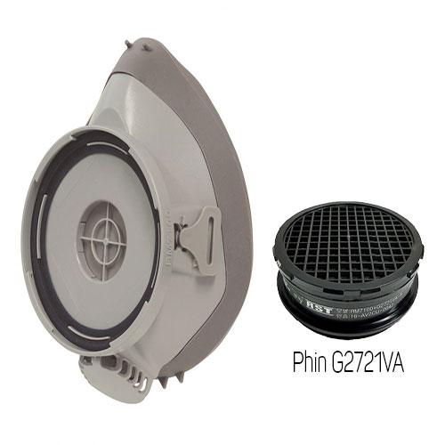 Mặt nạ phòng độc Restech RM 7100 + Phin G2721VA