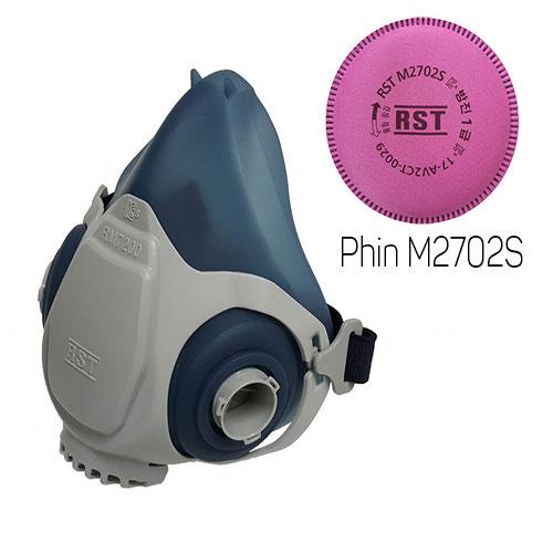 Mặt nạ phòng độc Restech RM 7200 + Phin M2702S