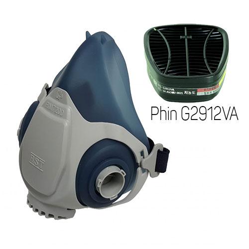 Mặt nạ phòng độc Restech RM 7200 + Phin G2912VA