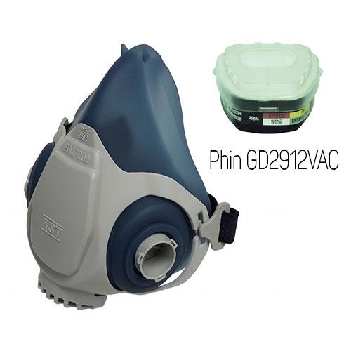 Mặt nạ phòng độc Restech RM 7200 + Phin GD2912VAC