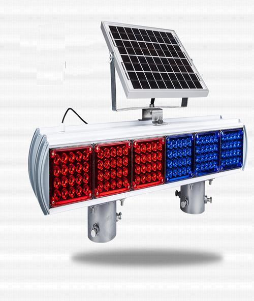 Đèn giao thông năng lượng mặt trời quan sát 4 phía