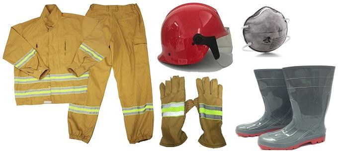 Bộ quần áo phòng cháy chữa cháy full