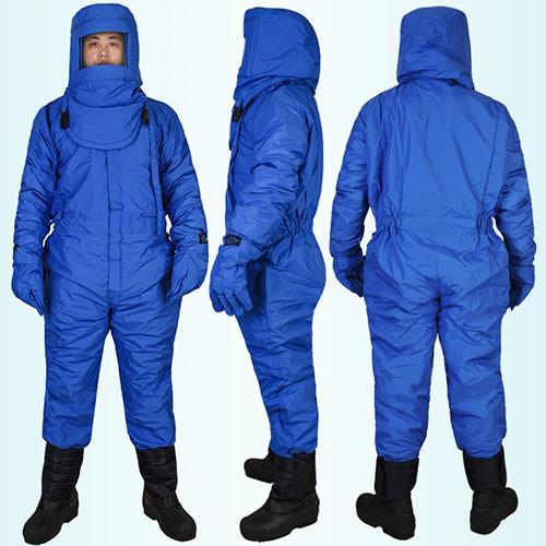 Bộ quần áo liền quần phòng lạnh chịu nhiệt âm 250 độ