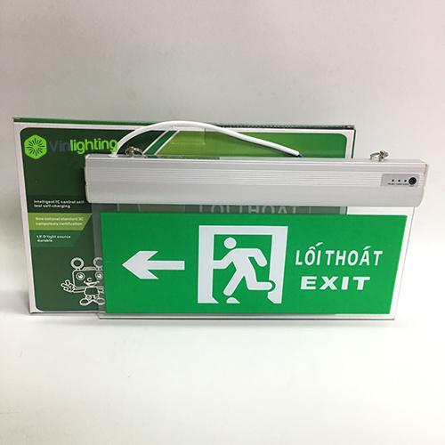 Đèn exit chỉ dẫn thoát hiểm bên trái VIN-TH-001