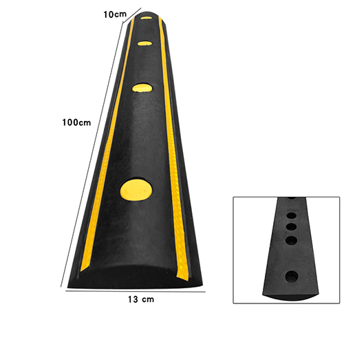 Ốp tường chặn lùi xe cao su dài 100 cm 003