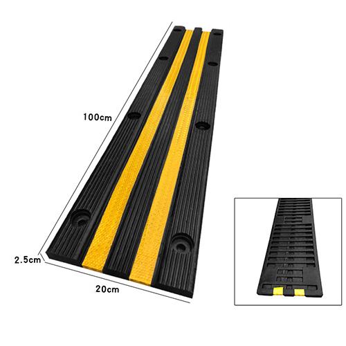 Ốp tường chặn lùi xe cao su dài 100 cm