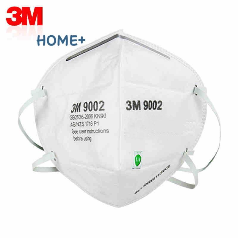 Khẩu trang giấy 3M N95 9002 chống vi khuẩn, virus, bụi