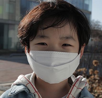 Khẩu trang trẻ em KF94 Hàn Quốc chống vi khuẩn, virus, bụi