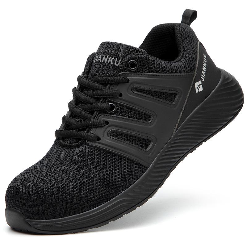 Giày bảo hộ lao động dáng thể thao siêu thoáng JK602 K3