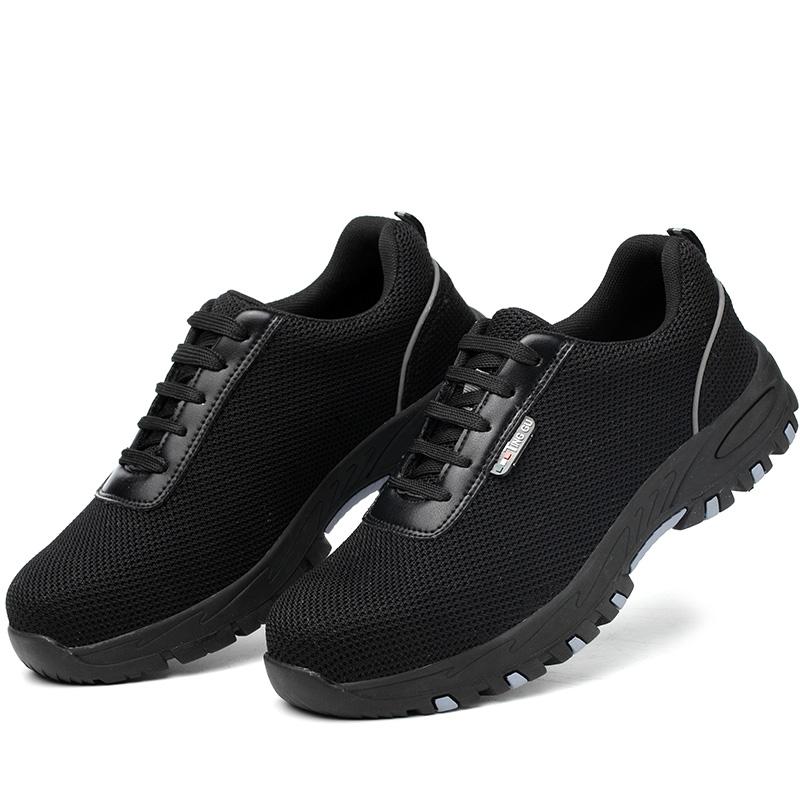 Giày da bảo hộ lao động thời trang siêu thoáng 128