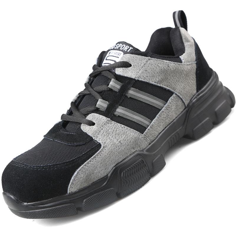 Giày da bảo hộ lao động dáng thể thao 139 K1