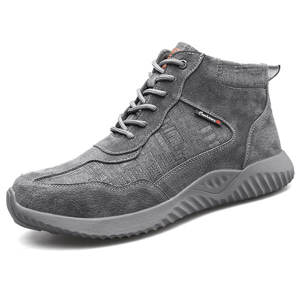 Giày da bảo hộ lao động cao cổ 818 K2