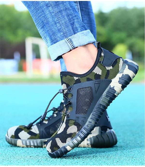Giày bảo hộ lao động dáng thể thao siêu thoáng 706 K1
