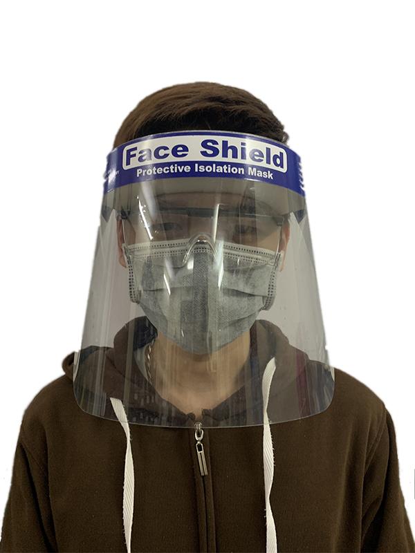Kính che mặt chống giọt bắn Faceshield Nhật Quang chống virus, chống bụi.
