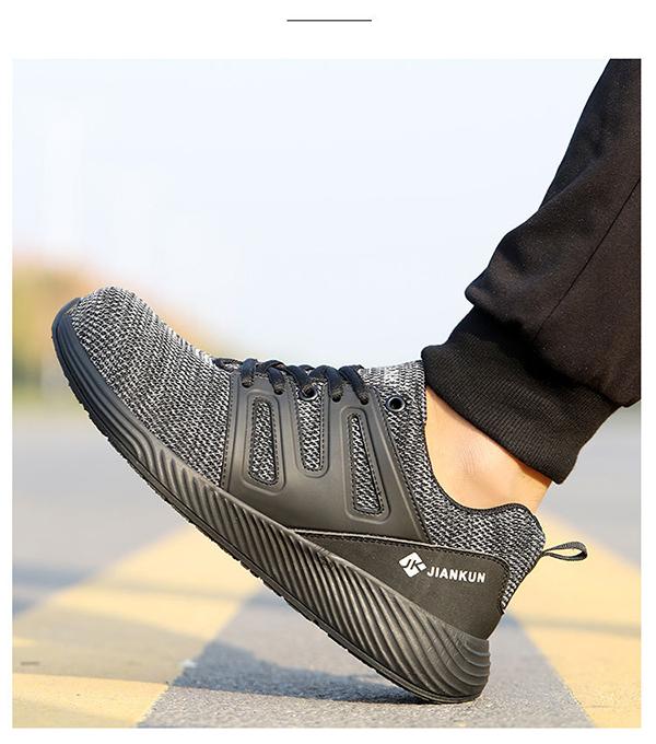 Giày bảo hộ lao động dáng thể thao siêu thoáng JK602 K1
