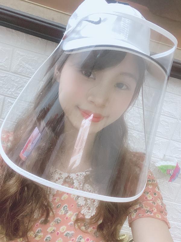 Mũ lưỡi trai phòng dịch che mặt thời trang các màu