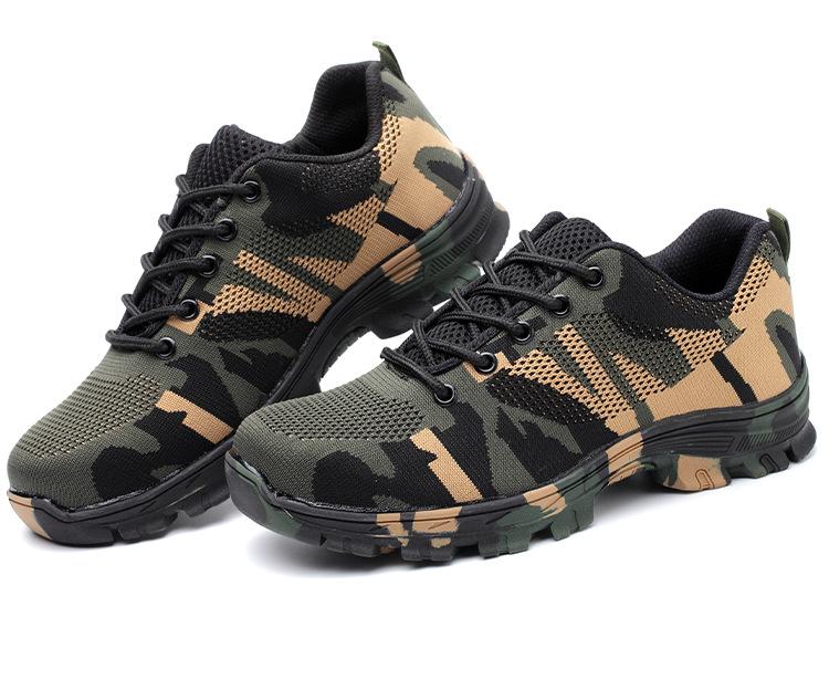 Giày bảo hộ lao động dáng thể thao siêu thoáng F137 K3