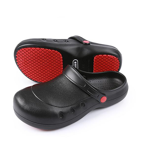 Giày da bảo hộ thời trang đi trong bếp, phòng sạch HL-DP-083