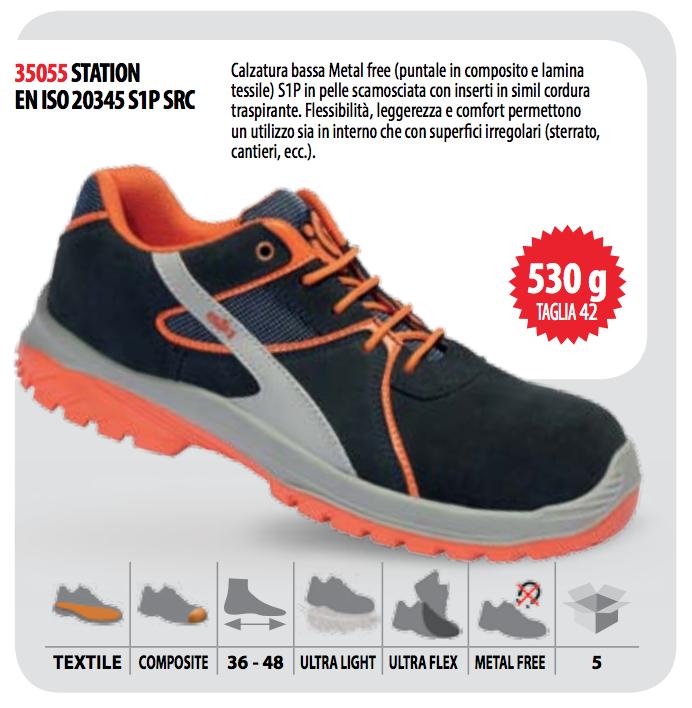 Giày da bảo hộ Italy Industrial Starter 35055