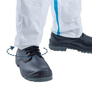 Bộ áo liền quần chống hoá chất, phòng dịch VinGuard 2000 Pro