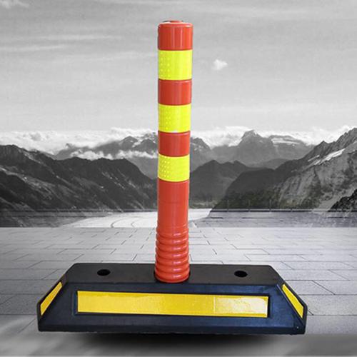 Dải phân cách cọc tiêu siêu mềm Nhật Quang cảnh báo phân làn giao thông cao 75 cm